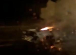 В Краснодаре в багажнике легковушки «пыхнули» баллоны с газом
