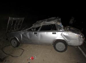 В Лабинском районе перевернулась машина: пострадал 6-летний мальчик