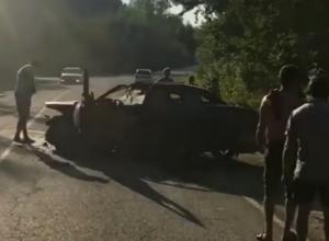 Пьяный водитель на «десятке» влетел в авто с детьми в Апшеронске
