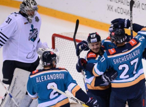Хоккейный клуб «Сочи» дома обыграл «Адмиралов»