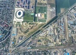 «Летим к облакам»: Краснодар сняли на видео с высоты 2100 метров