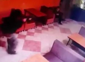 Появилось видео расстрела посетителей кафе в Усть-Лабинске