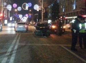 В центре Краснодара произошла массовая авария