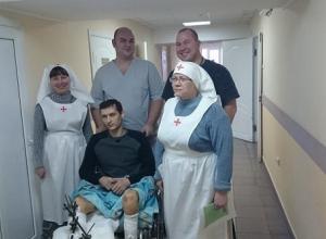 В Новороссийске  медики пытаются спасти ноги жертве аварии