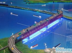 В Краснодарском крае приступили к строительству Керченского моста