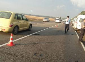 Опубликовано видео с места ДТП на Кубани, где погибли пятеро человек