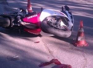 Сочинский полицейский врезался в мотоциклиста