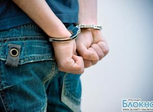 В Лабинске молодой рецидивист ограбил городское кафе