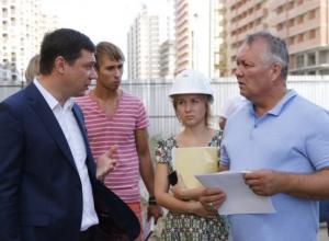 Обманутые дольщики вместе с мэром Краснодара побывали на «Территории счастья»