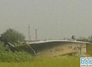 В Краснодарском крае жесткую посадку совершил самолет АН-2