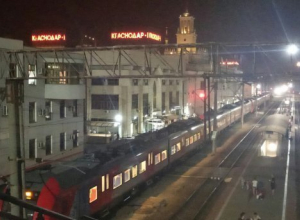 Товарный поезд задавил мужчину на вокзале «Краснодар-1»