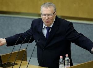 Владимир Жириновский отказался стать депутатом Заксобрания Кубани