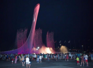Фонтан «Чаша Олимпийского огня» закрыли на профилактические работы