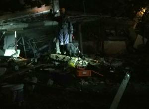 Под завалами взорвавшегося дома в Сочи нашли двоих человек