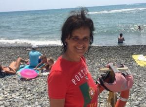 Португальская болельщица в Сочи спасла пьяного тонущего колумбийца