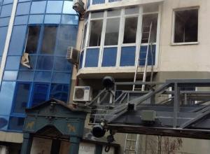 В Краснодаре вспыхнул пожар на втором этаже жилого дома