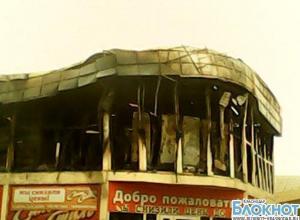 На Кубани в новогоднюю ночь сгорел магазин бытовой техники