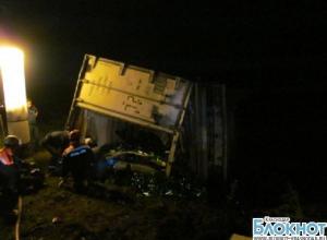 На Кубани столкнулось шесть автомобилей
