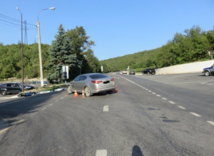 Мотоциклист без прав устроил ДТП на «встречке» в Новороссийске
