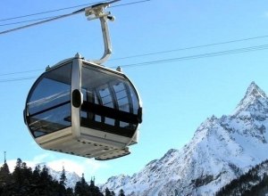 Канатные дороги на горнолыжных курортах в Сочи закроют на профилактику