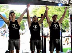 Краснодарские судьи соревнований по воркауту «отожгли» на турниках