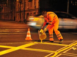 Еще 8 «вафельных разметок» появятся на дорогах Краснодара