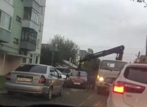 Краснодарцы возмущены экстрапробками из-за работы эвакуаторов
