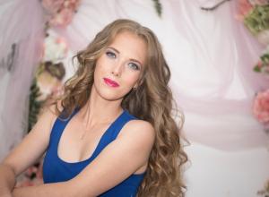 «Мечтаю, чтобы мама всегда была рядом», - участница «Мисс Блокнот Краснодар» Нина Сычева