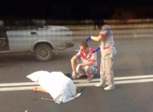 Молодой человек на «семерке» на пешеходном переходе сбил двоих бабушек в Краснодаре