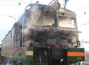 На Кубани из-за пожара в Гулькевичах задерживают пассажирские поезда