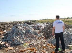 Жители Краснодара пожаловались на свалку в три гектара