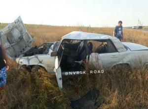 На Кубани пьяный водитель не справился с управлением и вылетел с дороги