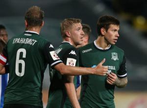 В стартовый состав сборной России попали два игрока «Краснодара»