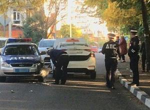 В Сочи на «встречке» произошло ДТП с участием ДПС и таксиста
