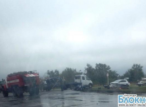 В Краснодарском крае в аварии погибли два водителя