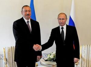 Путин встретится с президентом Азербайджана в Сочи