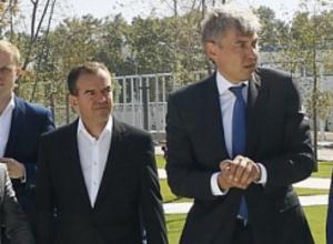 Миллиардер Галицкий показал парк губернатору Кубани за день до его открытия