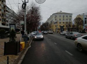 В центре Краснодара мужчина сбил 11-летнего мальчика на Красной