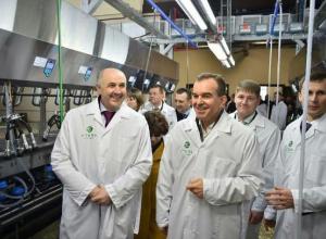 Крупнейшую и современную молочную ферму открыли в Краснодарском крае