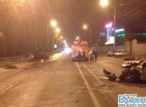 В Краснодаре пять человек пострадали в аварии