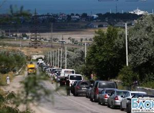 В Краснодарском крае из-за сильного ветра приостановлена работа паромов