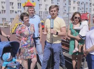 Строительная компания хочет отобрать у нас нашу спортивную площадку, - жители Краснодара