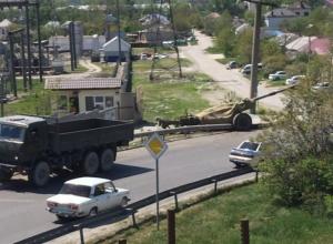 Военные «забыли» пушку под Новороссийском