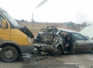 На Кубани в ДТП с «ГАЗелью» погиб 53-летний мужчина