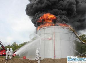 В Абинском районе прошли пожарные учения