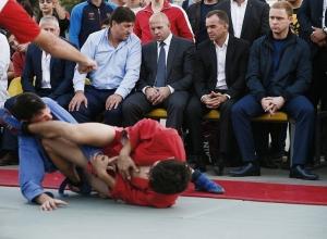 Легендарный спортсмен Федор Емельяненко оценил краснодарских борцов