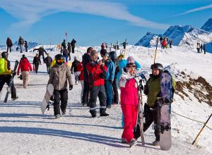 «Роза Хутор» наконец-то открыл горнолыжные трассы для катания