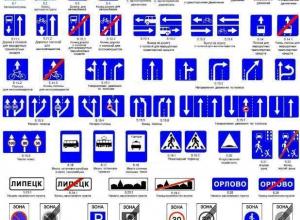 Краснодарских автомобилистов ожидают новые дорожные знаки