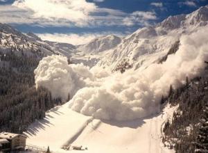 На Красной Поляне предупреждают об угрозе схода лавин