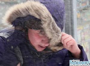 Аномальные морозы на Кубани продержатся еще неделю